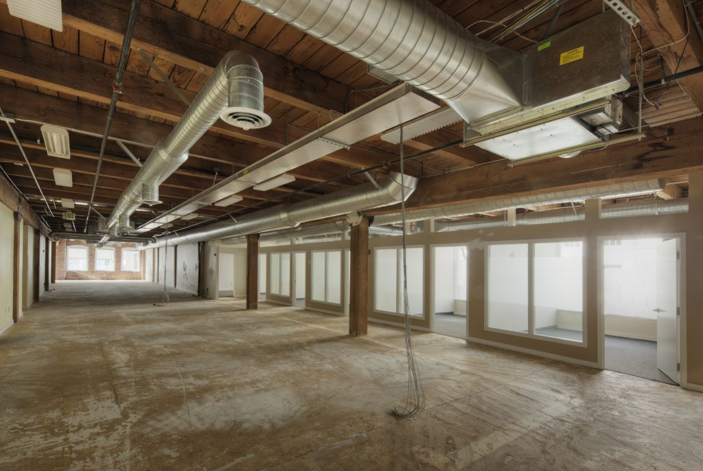 Commercial renovation